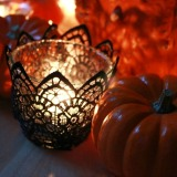 Pumpkins and Black Lace