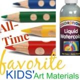 Our 25 favorite kids art materials